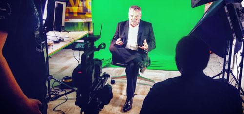 video production dublin green screen