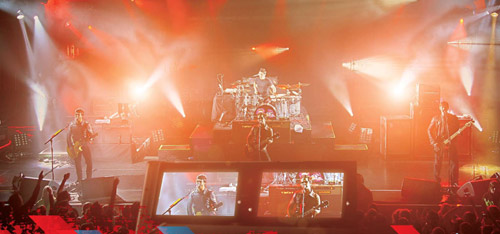 live streaming video production service music