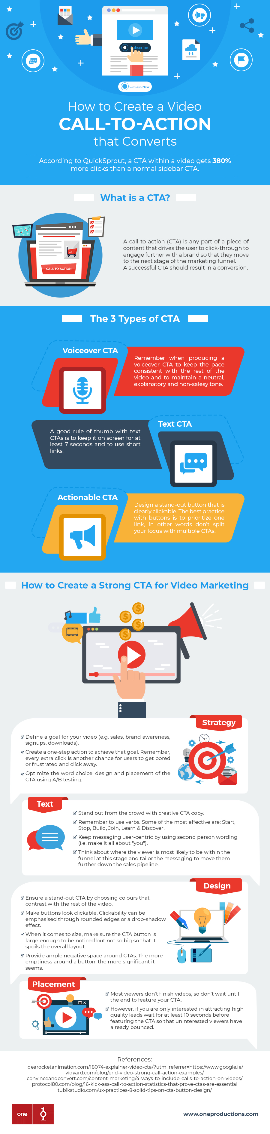 Video CTA video content agency